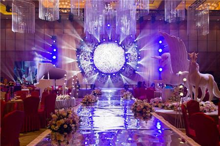婚礼大屏幕素材图片参考图