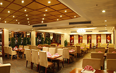 酒店6楼半山花园餐厅