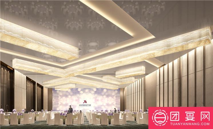 首座万豪酒店婚宴图片