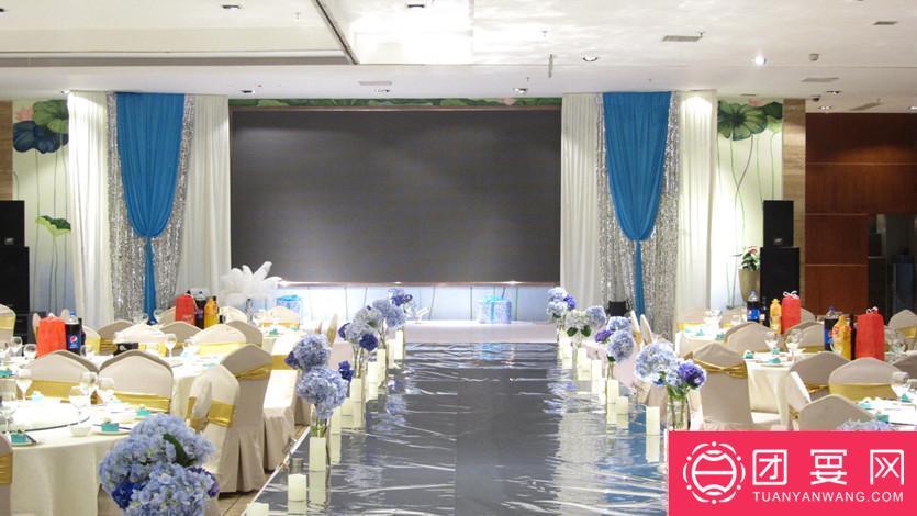 晶泽莲漪酒楼婚宴图片