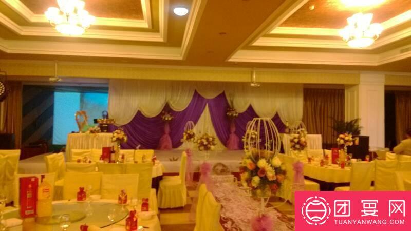 岭御酒楼婚宴图片
