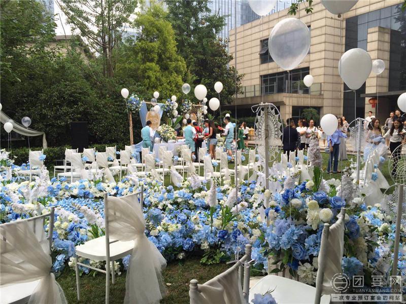 四宿天元花园餐厅婚宴图片