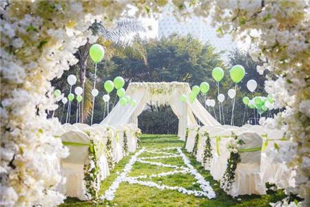 西安草坪婚礼