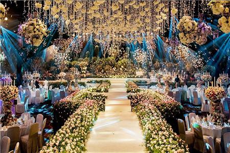 重庆婚礼场地 婚礼布置