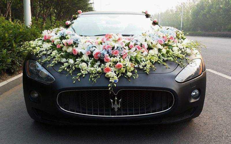 西安婚宴 婚车