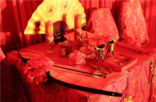 西安婚宴 中式婚礼道具