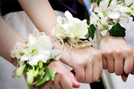 成都结婚筹备 手腕花