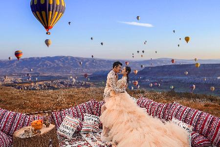 郑州婚宴酒店,婚纱照风格