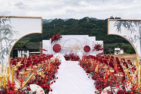 农村婚礼,婚礼现场,农村婚礼布置