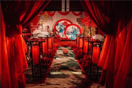 成都中式婚礼 婚庆布置
