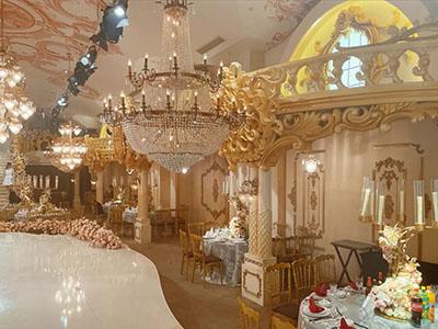 婚宴酒店,宴会厅布置,有柱宴会厅
