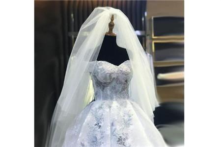 成都结婚场地 头纱