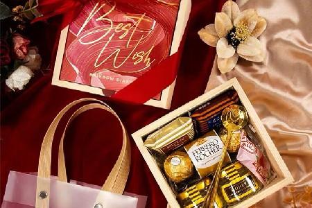 婚礼伴手礼搭配——巧克力,蜂蜜
