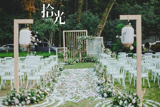 西安结婚网,婚礼筹备,草坪婚礼