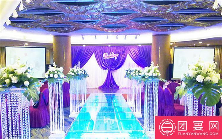 重庆万友康年大酒店婚宴图片