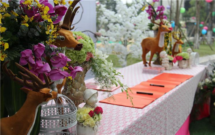 牧山沁园酒店婚宴图片