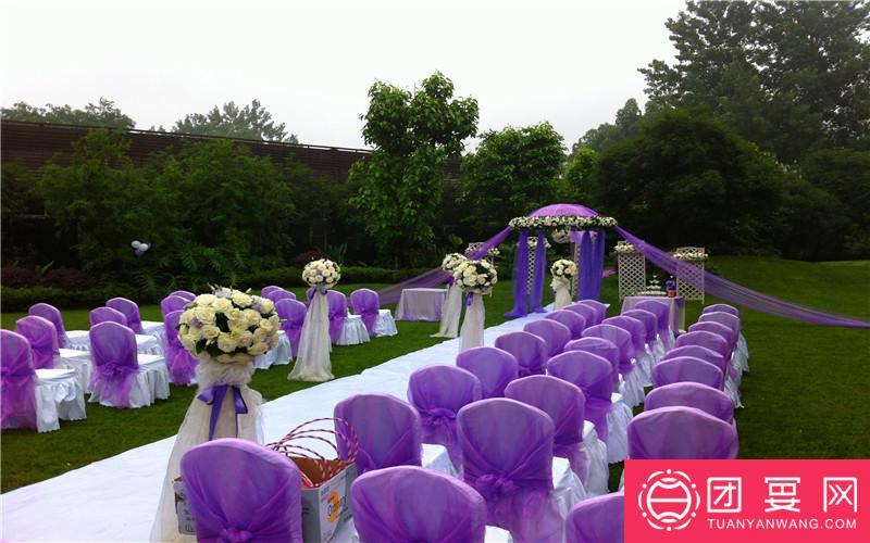 绿道上宴婚宴图片
