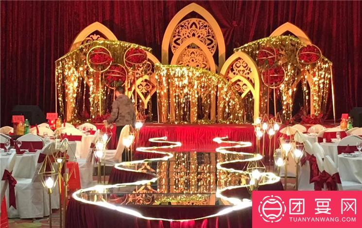 华尔顿盛宴婚宴图片