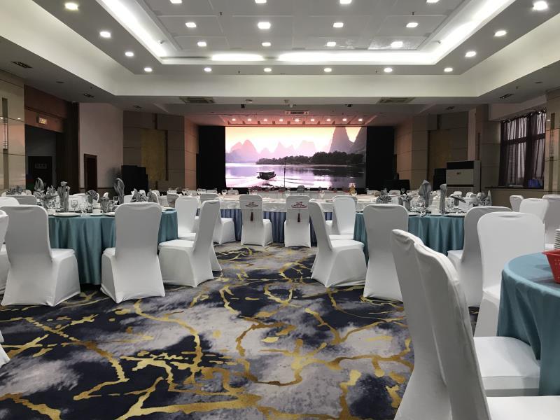 西安东方大酒店婚宴图片