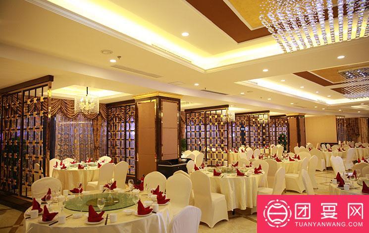 聚华庭大酒楼婚宴图片