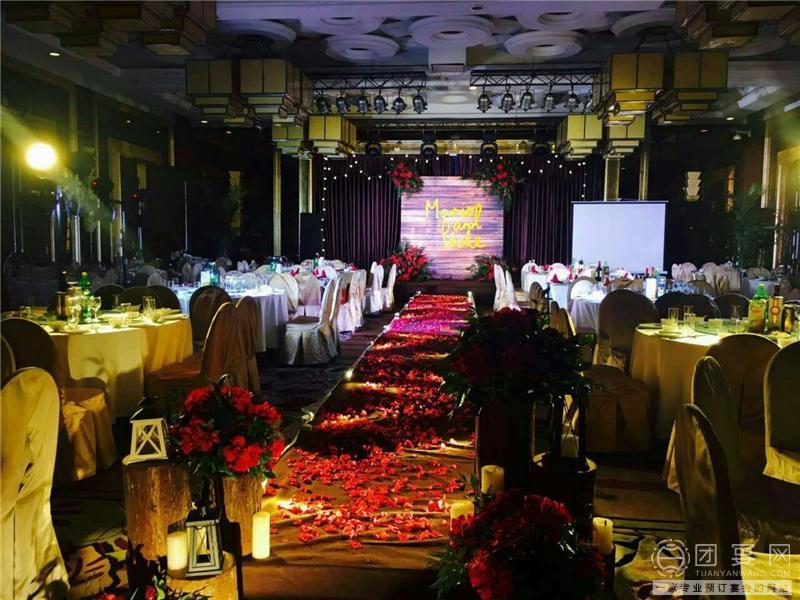 天府阳光酒店婚宴图片