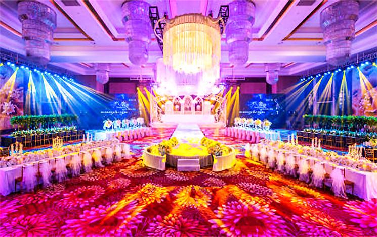 喜满庭宴会酒店婚宴图片