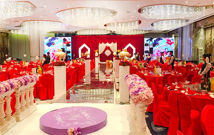 威斯汀酒店婚宴图片