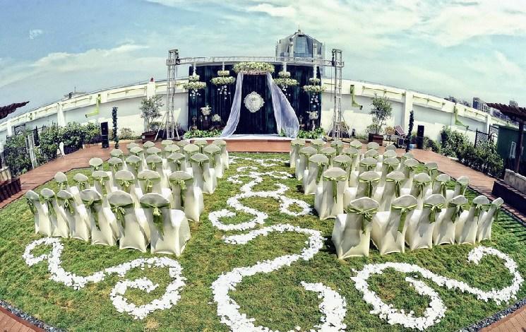 河南天地粤海酒店婚宴图片