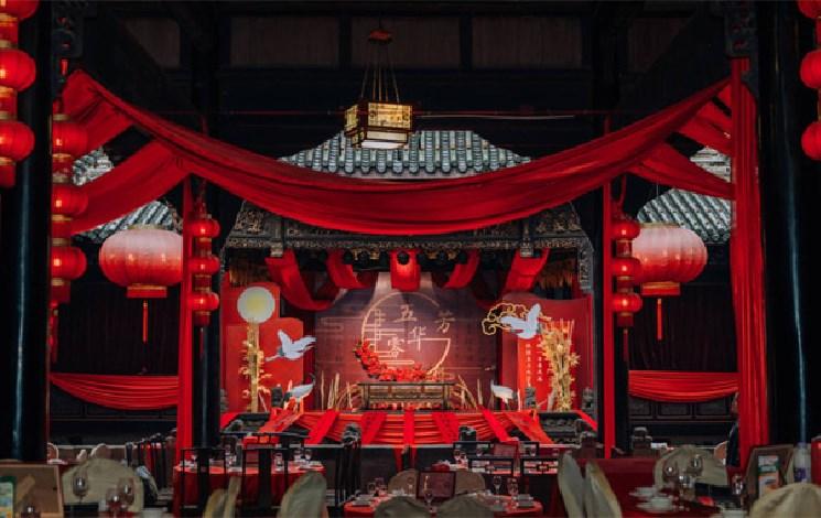 湖广会馆婚宴图片