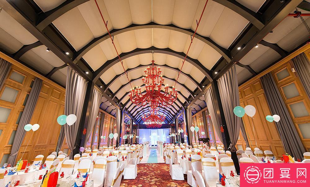 艺朗酒店婚宴图片