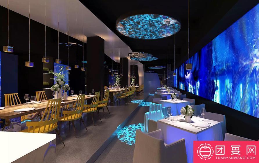 与鲨共舞 鲨鱼餐厅婚宴图片