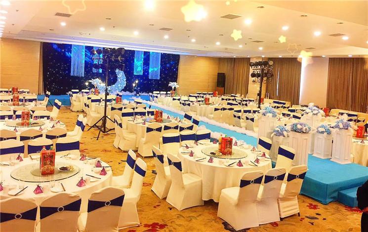 西安高新商务酒店婚宴图片