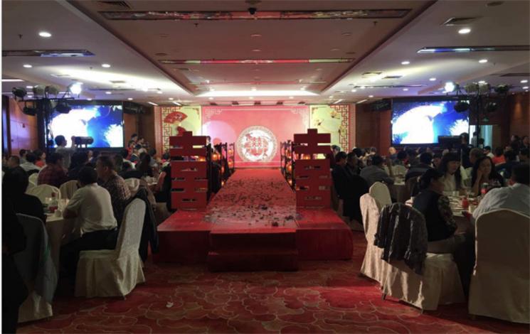 西安天翼新商务酒店婚宴图片