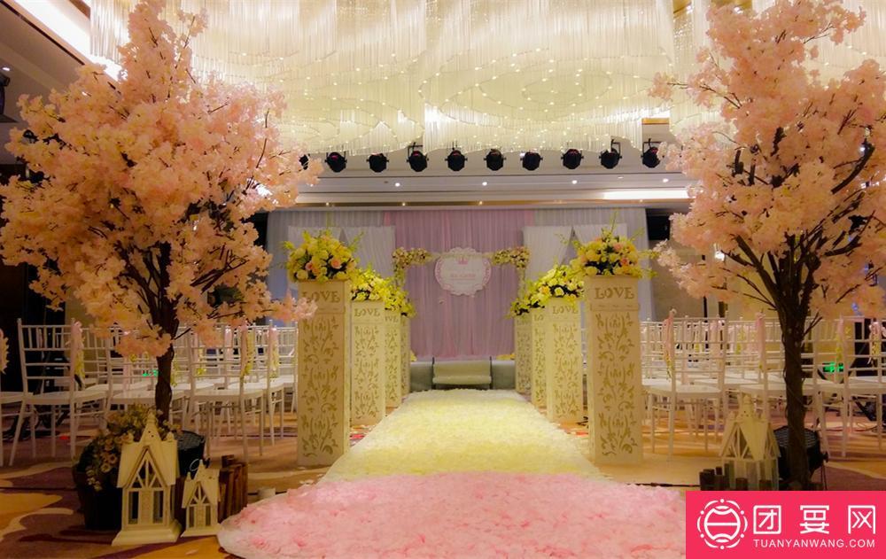 盈田酒店婚宴图片