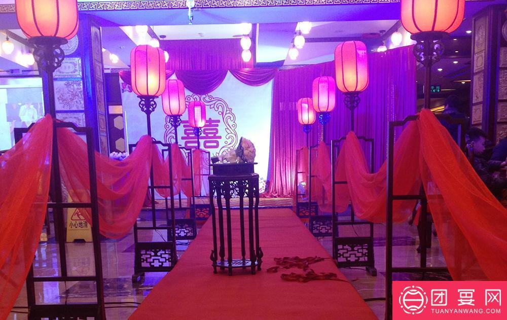 唐记红木酒店婚宴图片