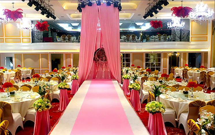 黄河人家婚礼主题酒店婚宴图片