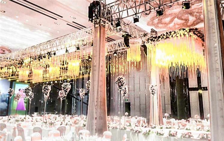 万达文华酒店婚宴图片