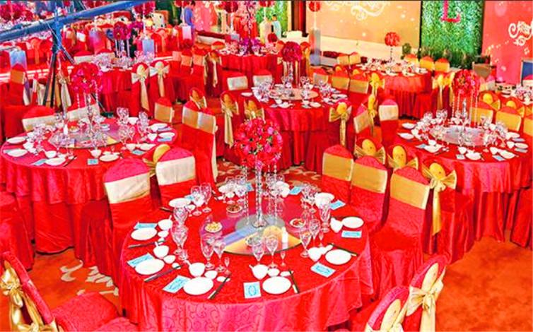山西丽华大酒店婚宴图片