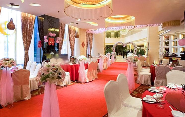 长沙新时空华程大酒店婚宴图片