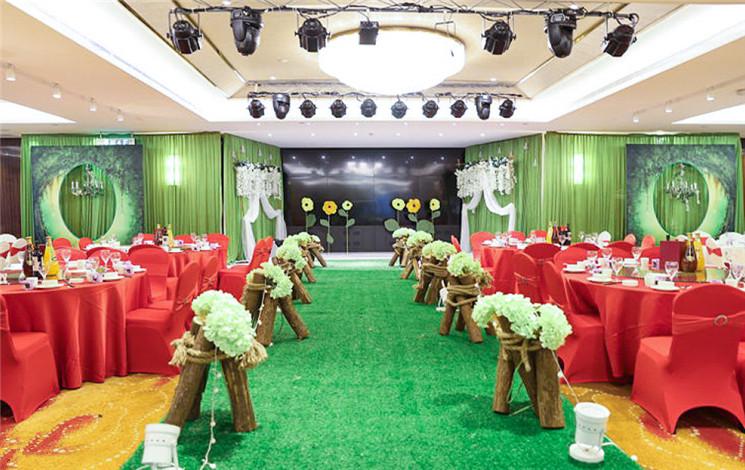 长沙天龙大酒店婚宴图片