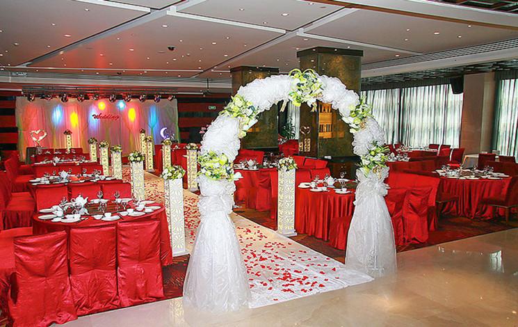 新桃园酒店婚宴图片