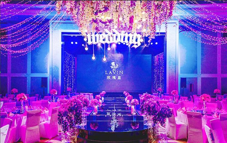 LAVIN玫瑰里 天津爱琴海店婚宴图片