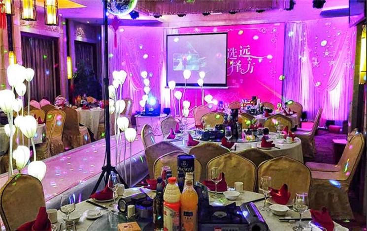 荷塘月色 麓谷店婚宴图片