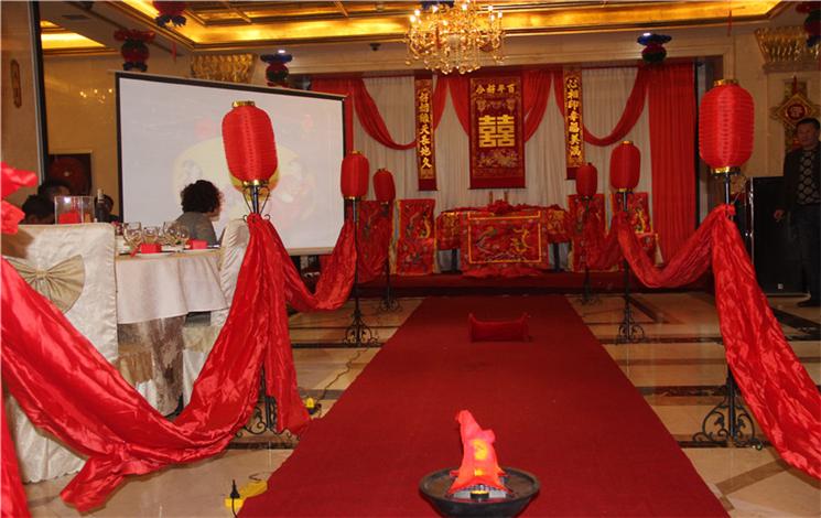 金富莱酒店婚宴图片