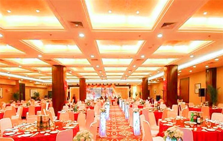 合肥古井假日酒店婚宴图片
