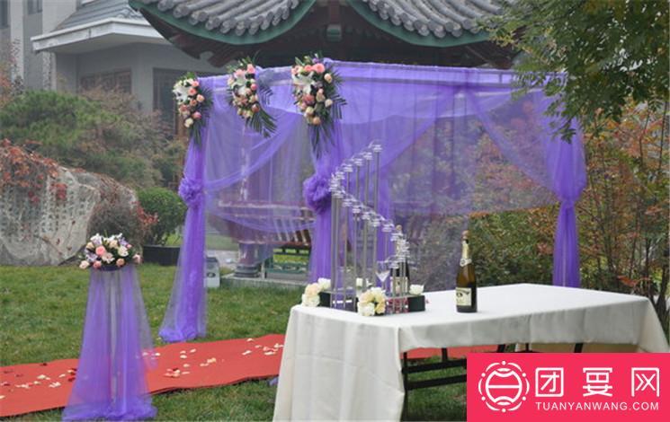 香山假日商务会所婚宴图片