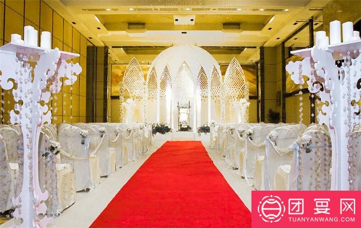 北京香格里拉饭店婚宴图片