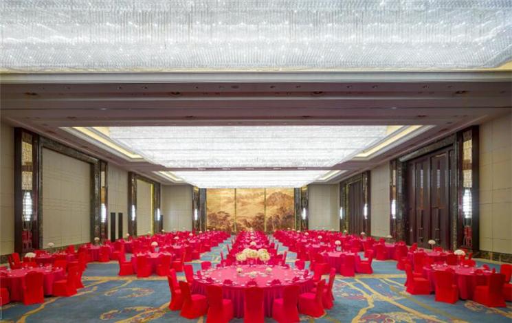 合肥万达威斯汀酒店婚宴图片