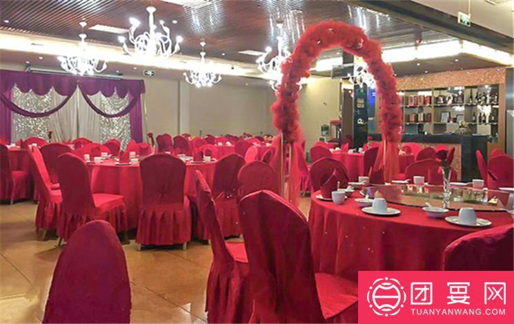 和平风格假日酒店婚宴图片