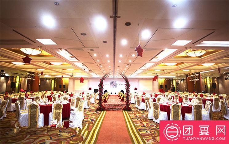 北京港澳中心瑞士酒店婚宴图片